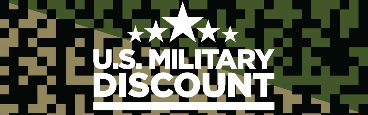 Military Discount Available!
