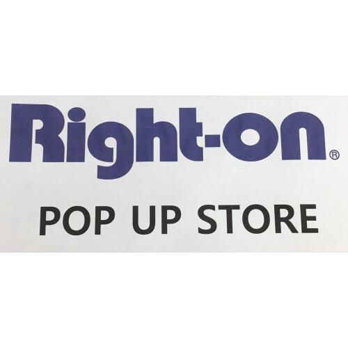 Right-on  POP UP SHOP オープン‼