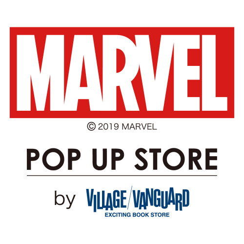 【11/15 NEW OPEN】3F・MARVEL POPUP STORE by ヴィレッジヴァンガード