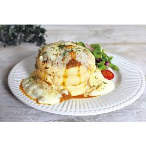 【スパイシーカレーチーズブリュレパンケーキ】のご紹介